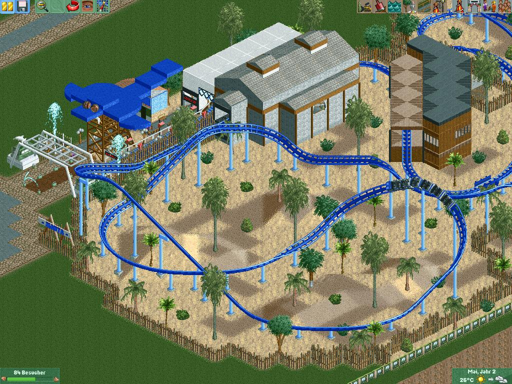 Ardy's RCT2 park competition